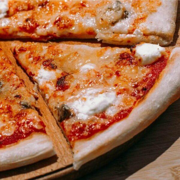 Пицца 4 сыра 25см 400 грамм