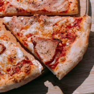 """Пицца """"Мясная"""" 25см 400грамм"""