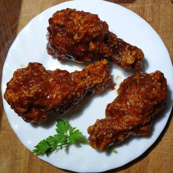 """Курочка """"Ням-ням Chicken"""" в соусі BBQ"""